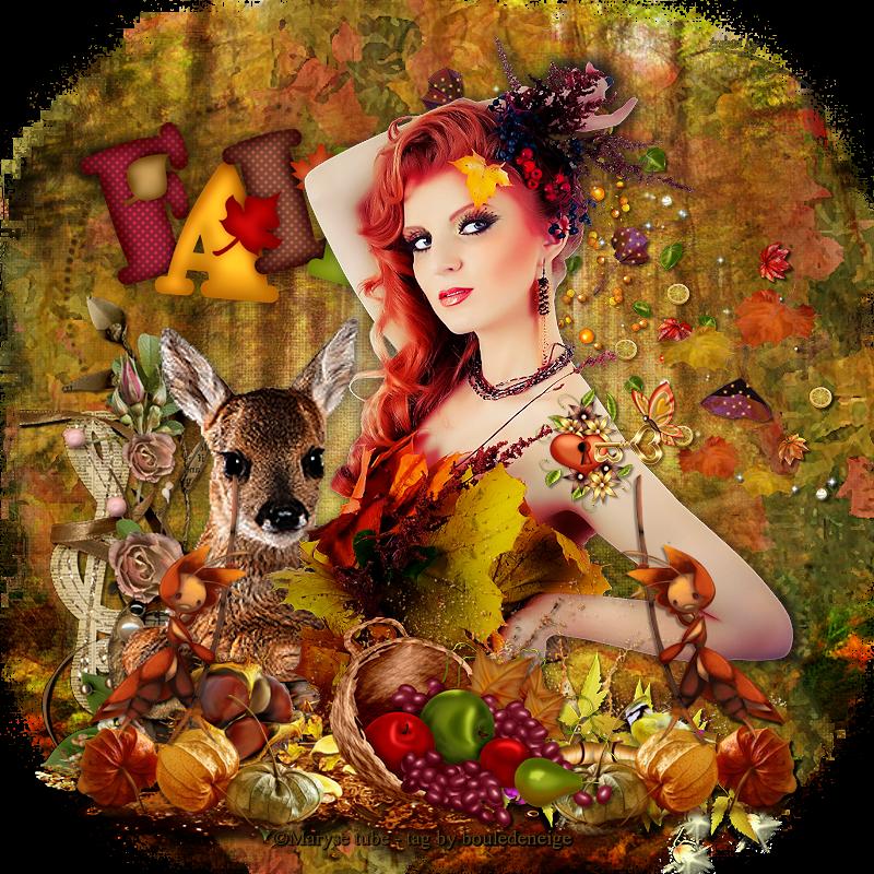 tuto autumn romance