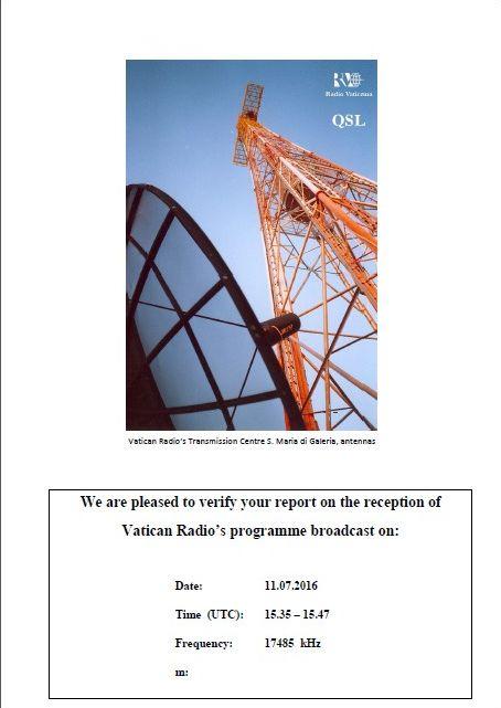 eQSL de R.VATICAN 160907083959949790