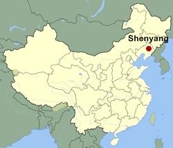 Shenyang-map