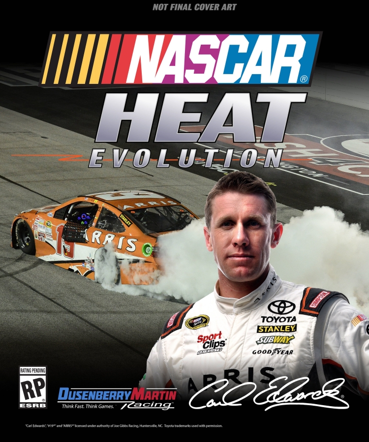 Poster for NASCAR Heat Evolution