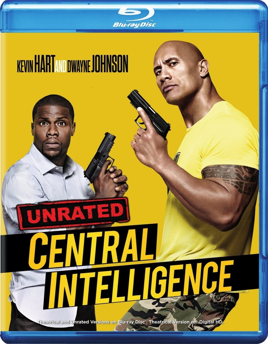 Central Intelligence (2016) poster image