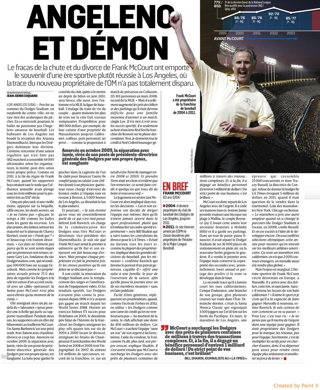 [Vente du club] Frank McCourt rachète l'OM ! - Page 26 160917111605136862