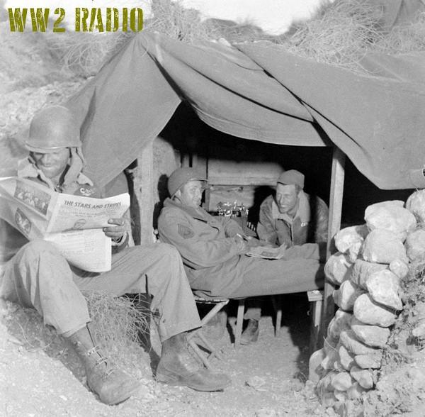 Poste de commandement avancé - Tunisie - 1943 160919071201337796
