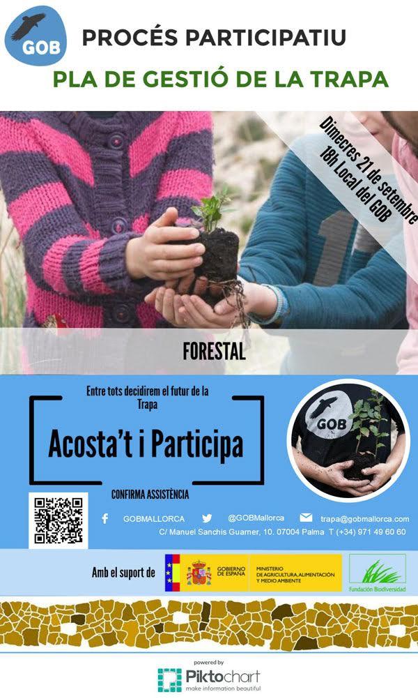 Pla de gestió de la Trapa - Gestió forestal (21-09-16)