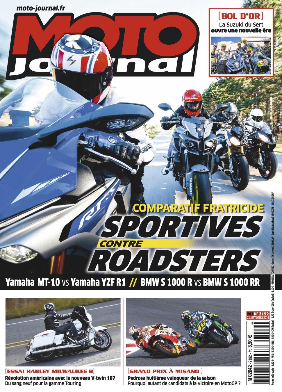 Moto Journal N°2192 - 21 Septembre 2016