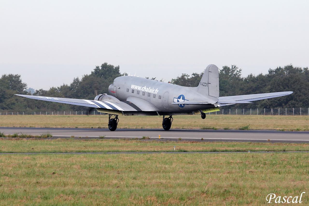 Chalair Dakota Air Tour 2016-Escale sur l'aéroport de Rennes 160922084850888521