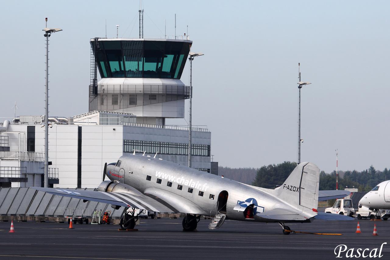 Chalair Dakota Air Tour 2016-Escale sur l'aéroport de Rennes 160923085039777865