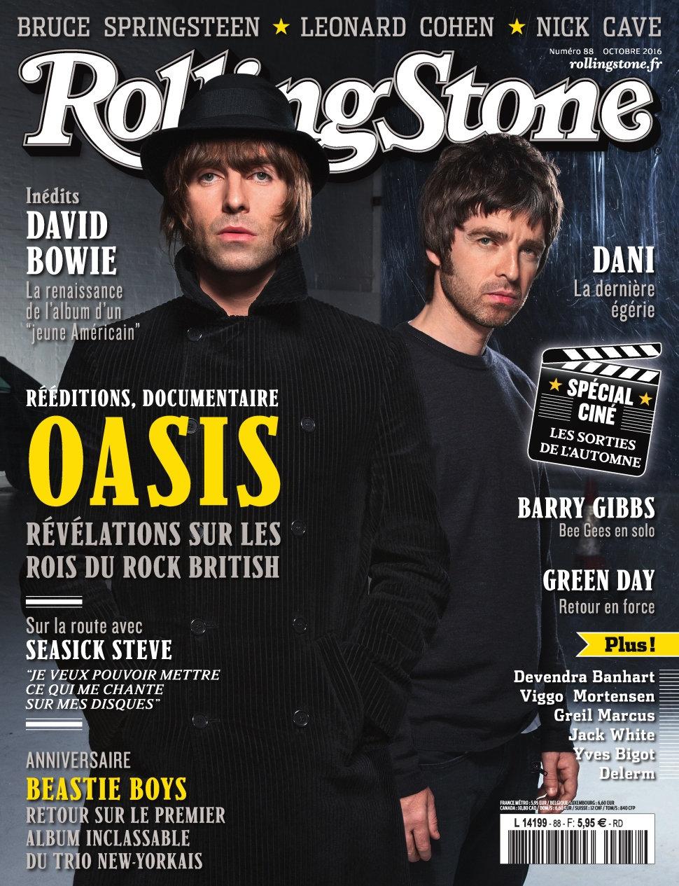 Rolling Stone N°88 - Octobre 2016