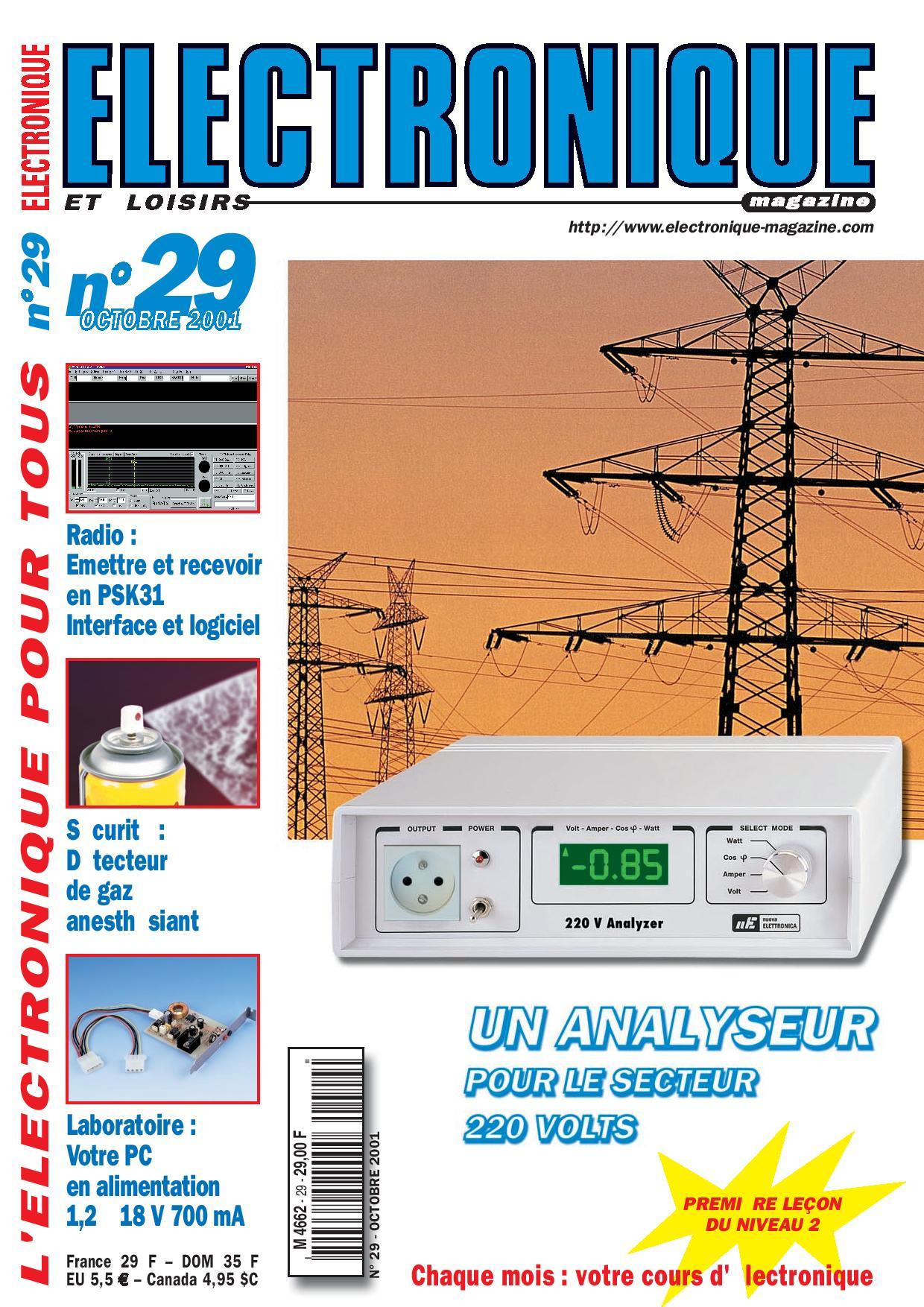 Electronique et Loisirs Magazine N°29