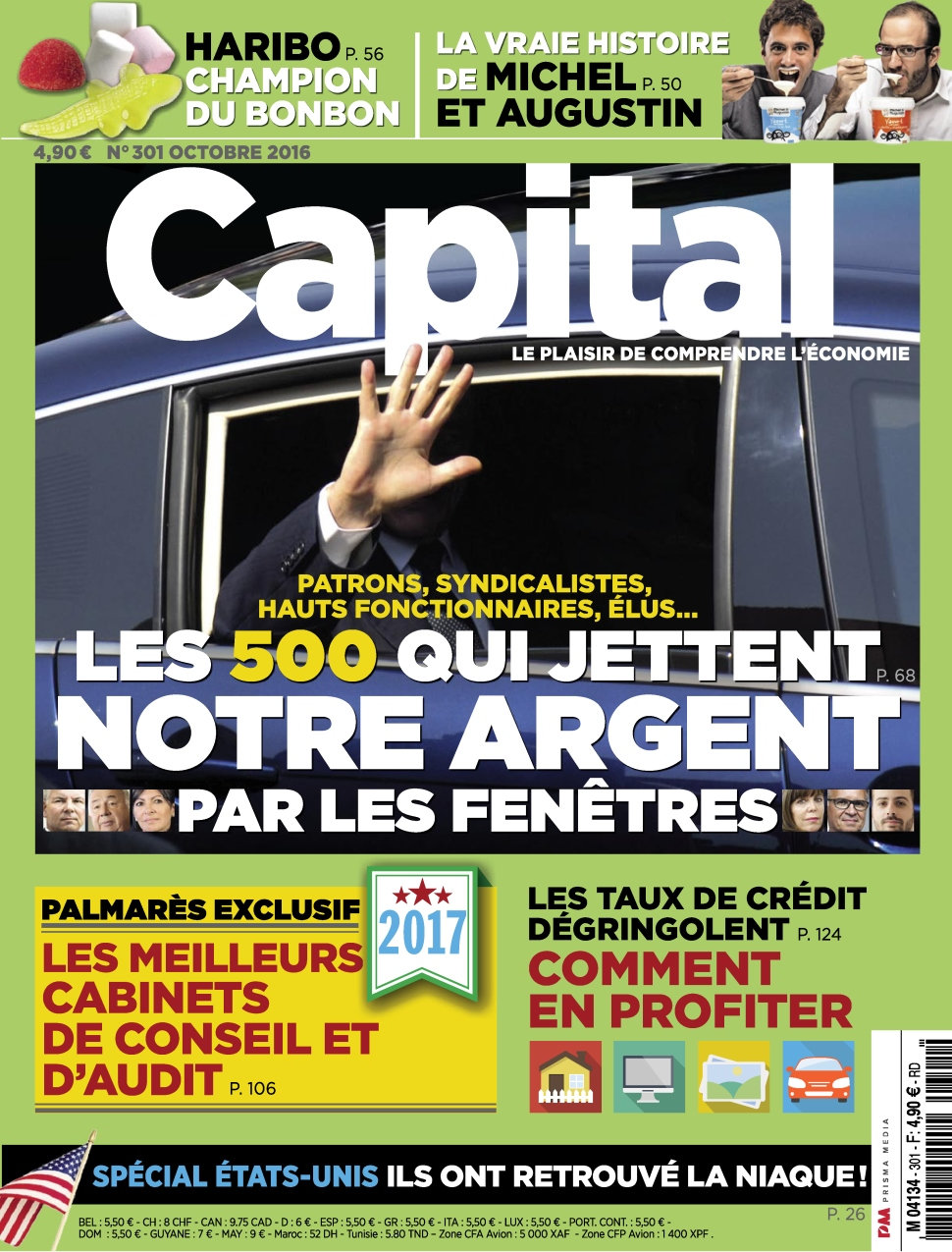 Capital N�301 - Octobre 2016