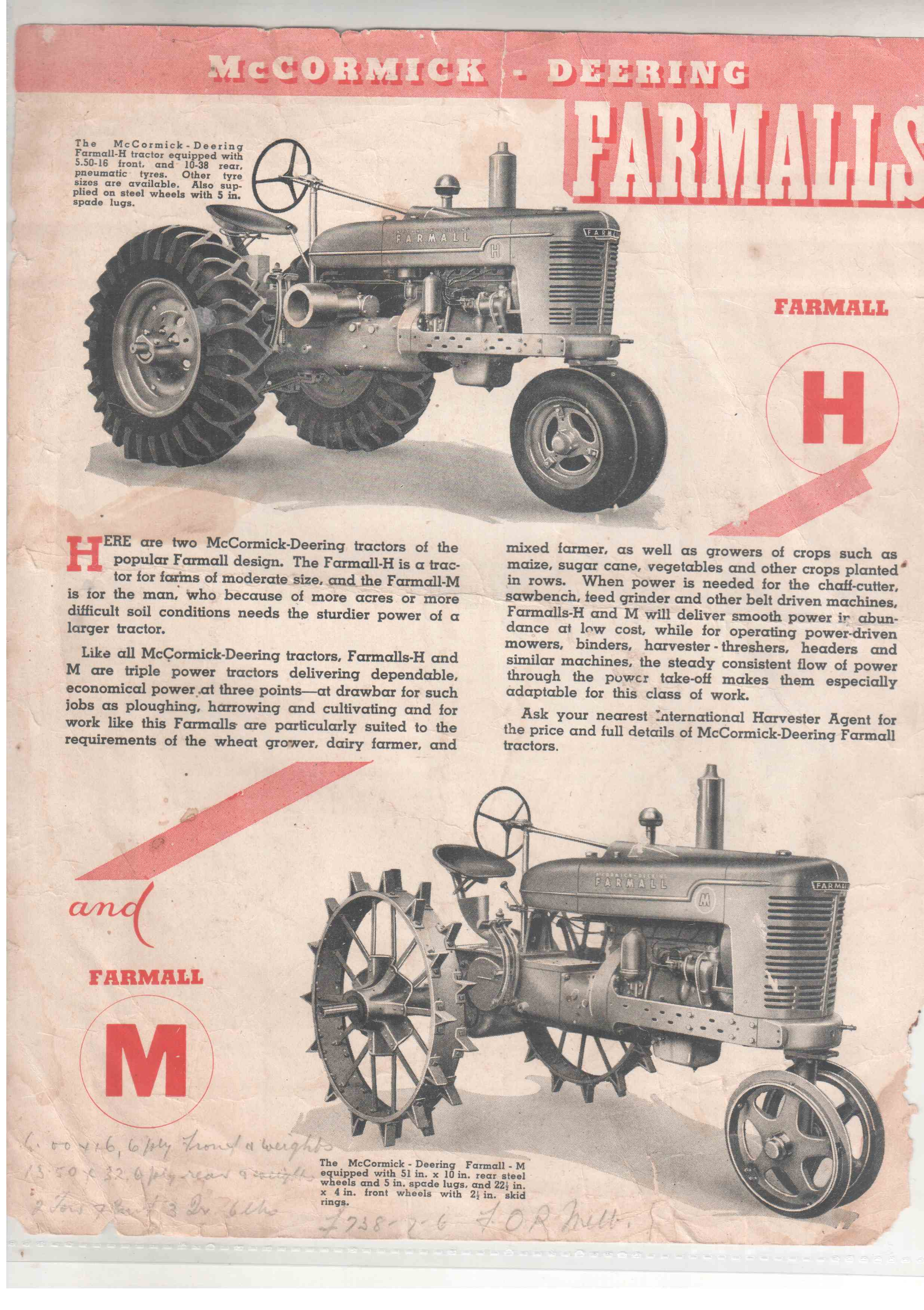 farmall h dating Buying old farm tractors how to find and evaluate old farm tractors — farmall, johnny popper, oil-pull, fordson, or rumely — for less.