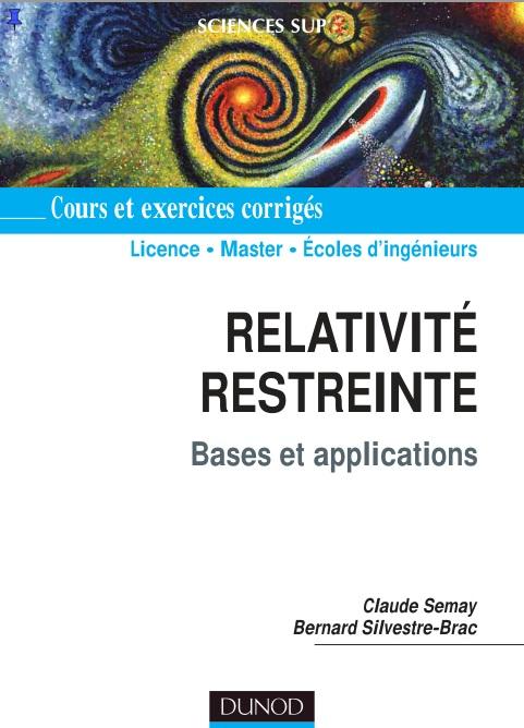 télécharger Relativité restreinte : Bases et applications