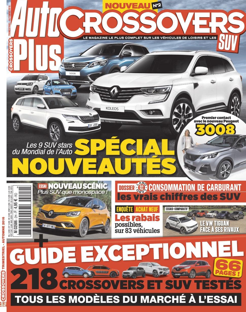 Auto Plus Hors Série Crossovers N°2 - Automne 2016