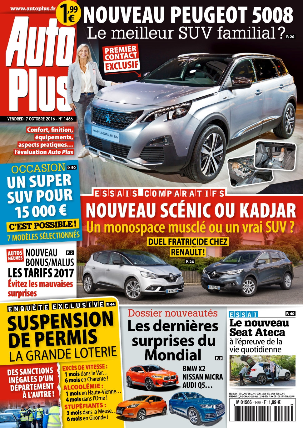 Auto Plus N°1466 - 07 au 13 Octobre 2016