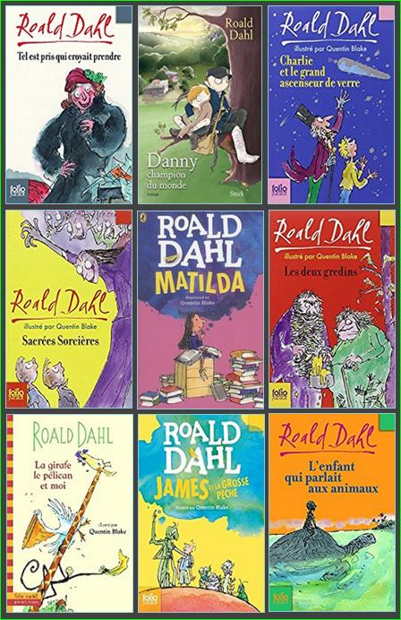Dahl Roald - Pack Treize Livres