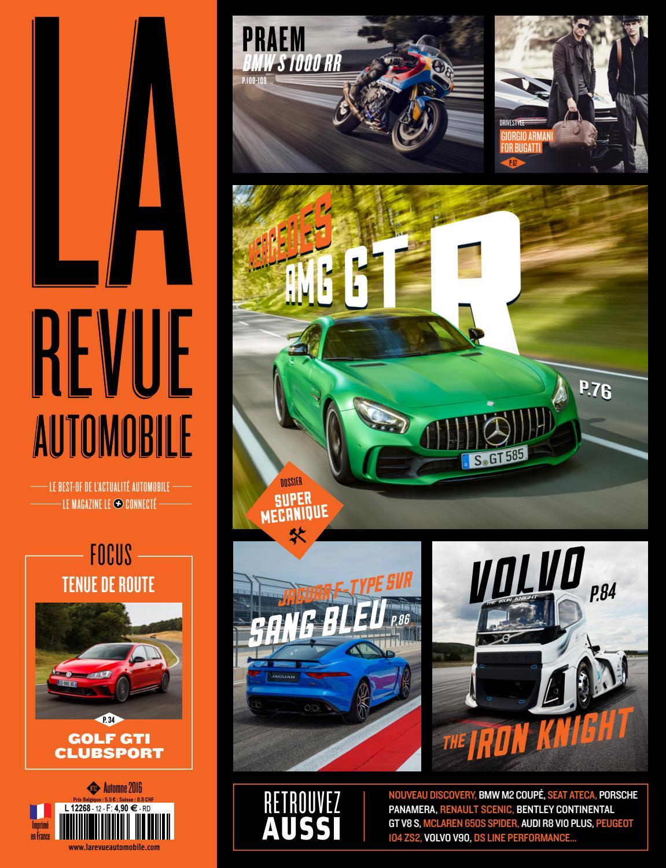 La Revue Automobile N°12 - Automne 2016