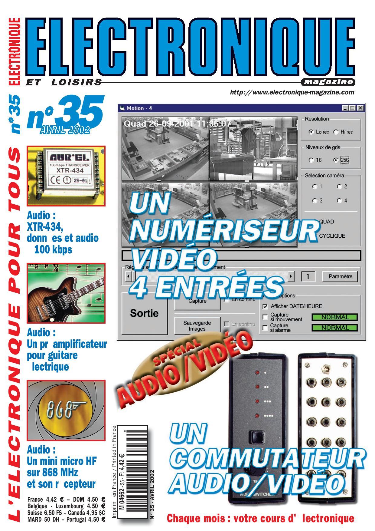 Electronique et Loisirs Magazine N°35
