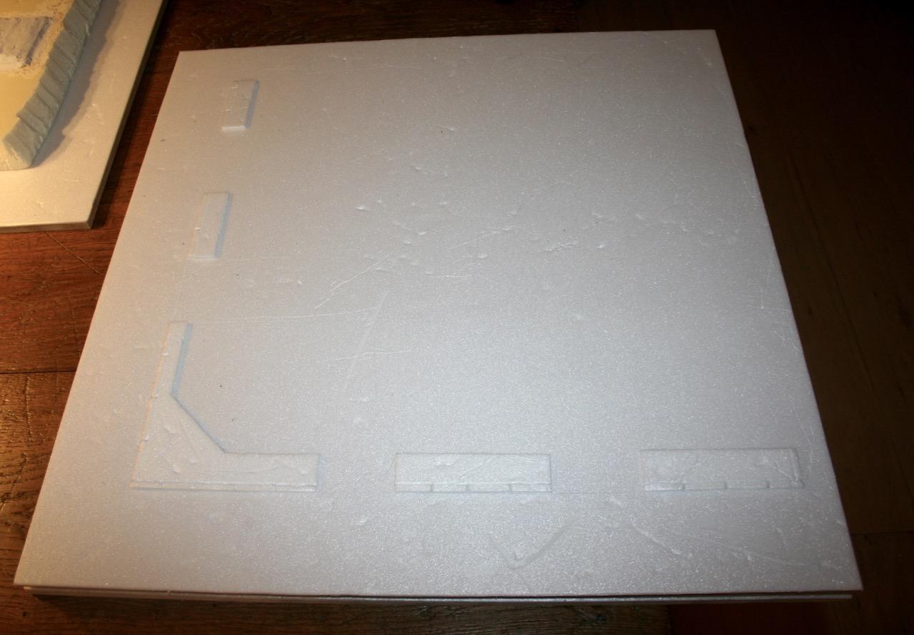 L'atelier de Lien : début de tables Gotham.. 161009114219634639