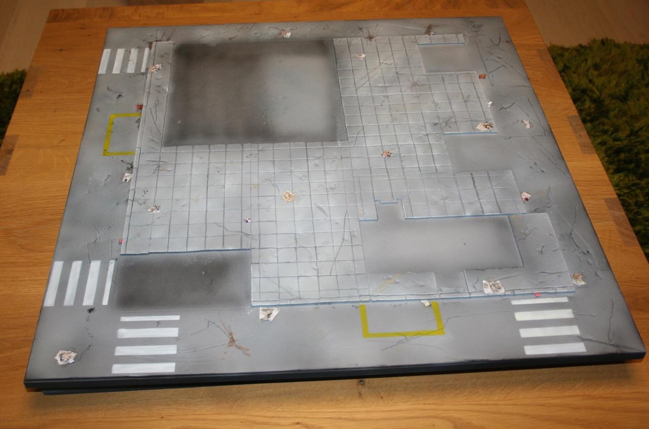 L'atelier de Lien : début de tables Gotham.. 161010120427959963