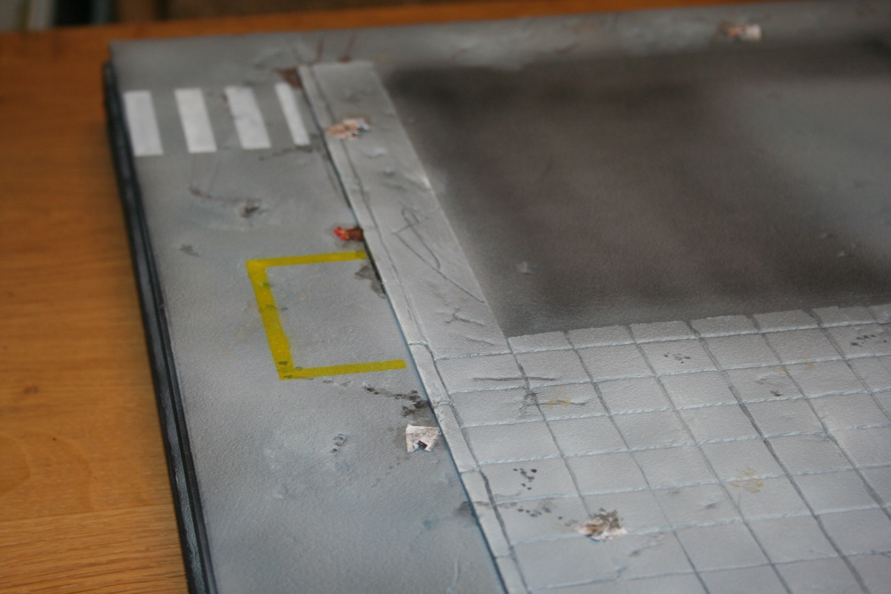 L'atelier de Lien : début de tables Gotham.. 161010120430991542