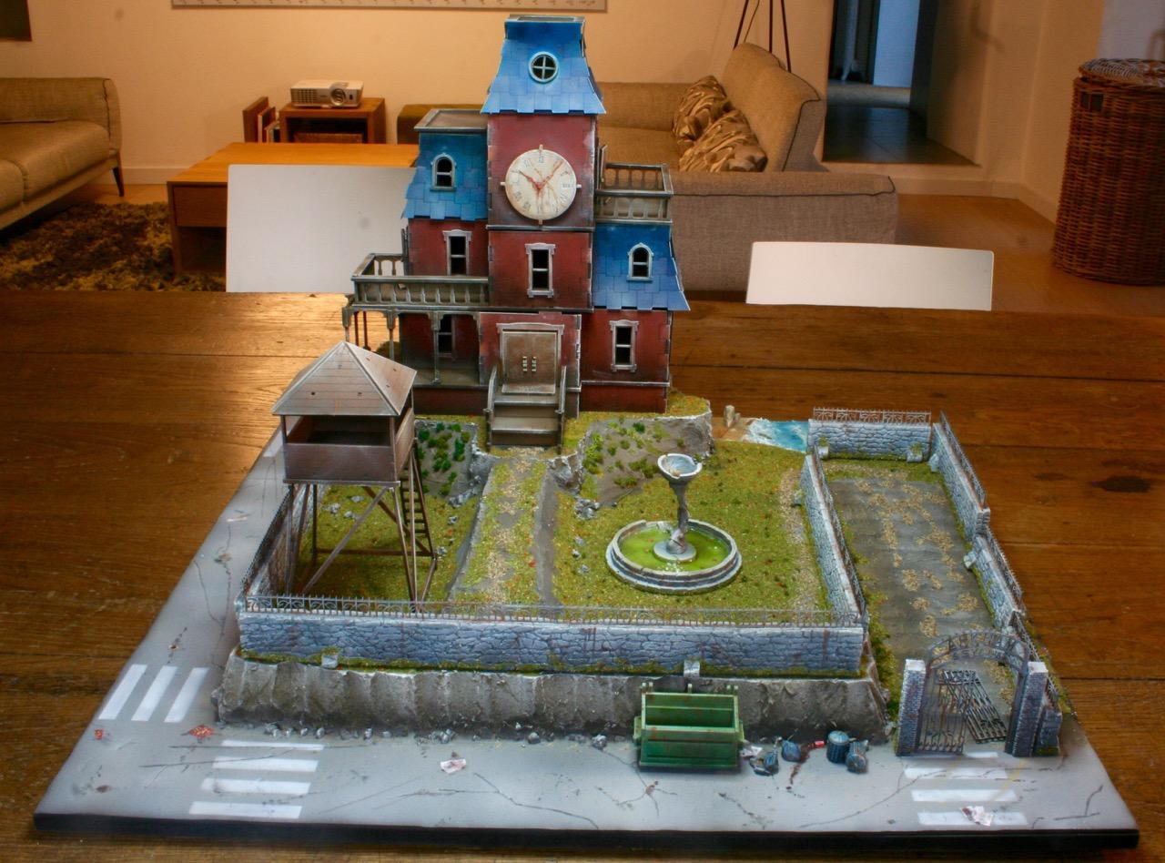 L'atelier de Lien : début de tables Gotham.. 16101012165980538
