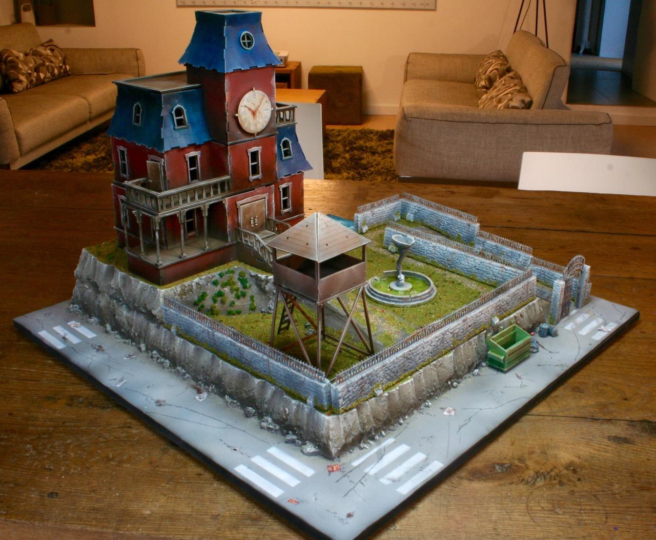 L'atelier de Lien : début de tables Gotham.. 161010121702846375