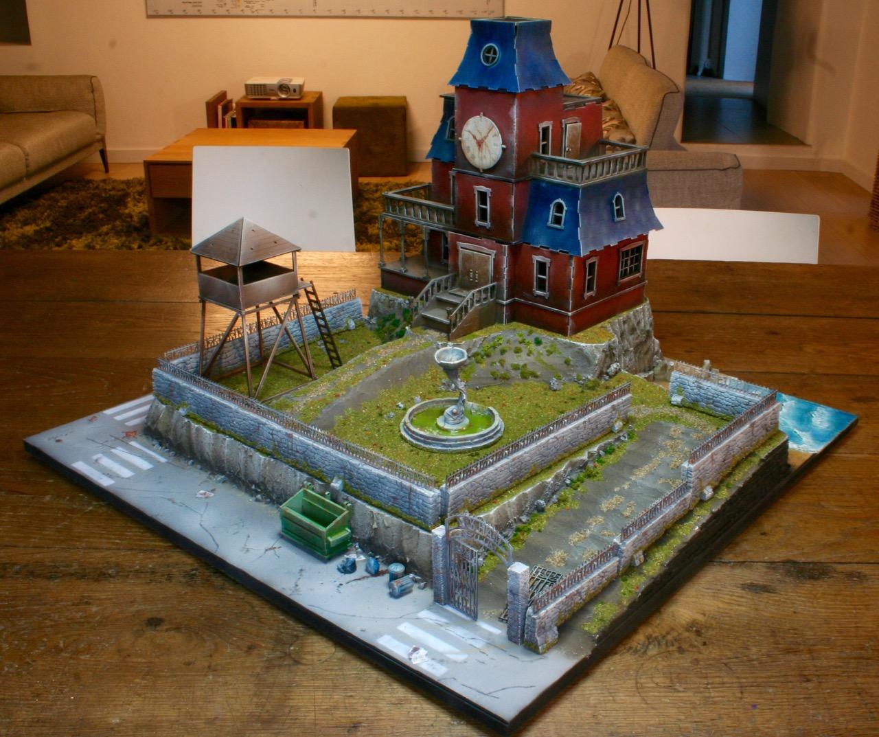 L'atelier de Lien : début de tables Gotham.. 16101012170348639