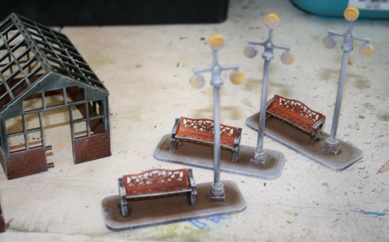 L'atelier de Lien : début de tables Gotham.. 161010122158860031