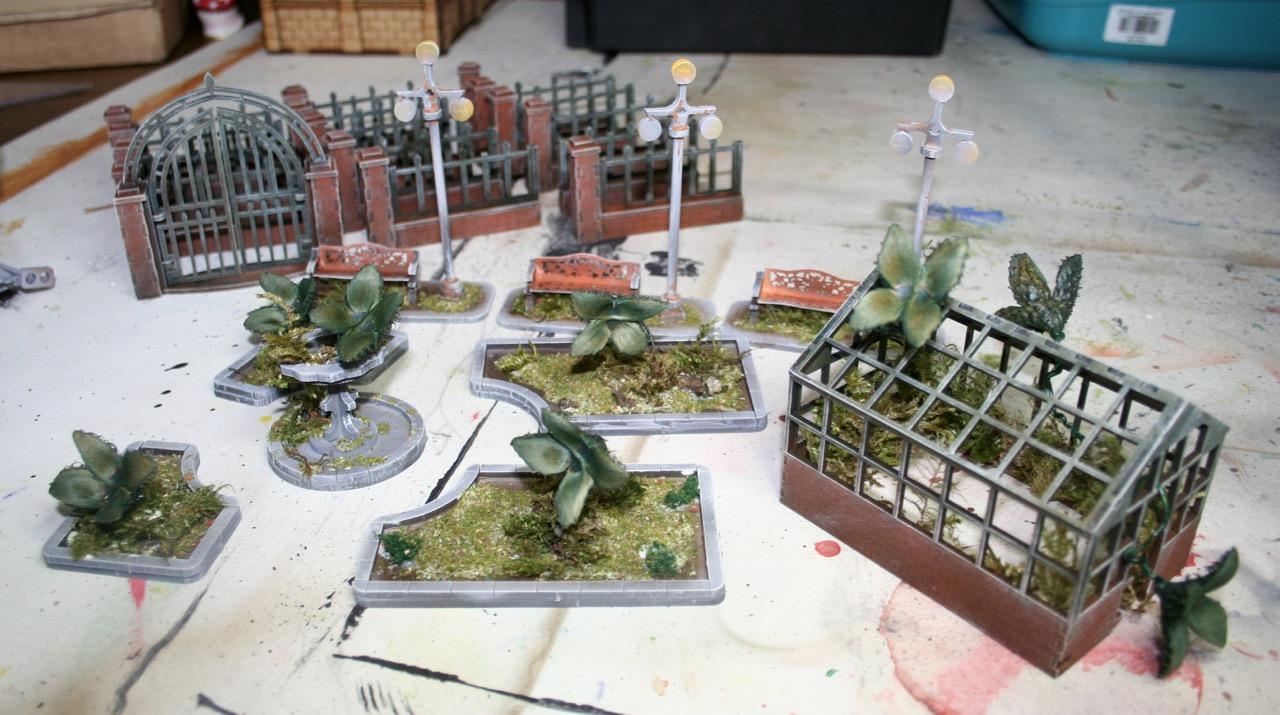 L'atelier de Lien : début de tables Gotham.. 161010122200290817