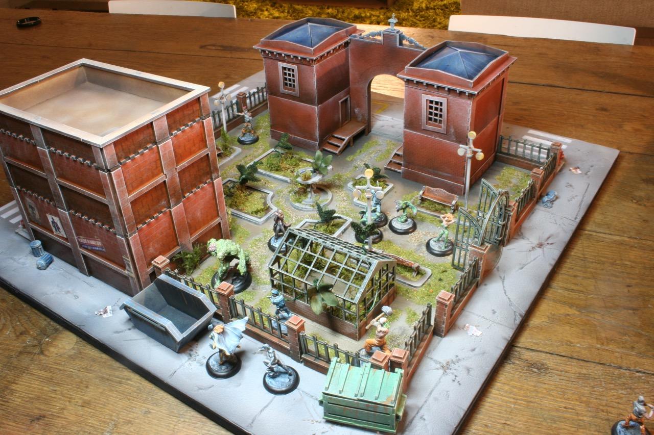 L'atelier de Lien : début de tables Gotham.. 16101012253130151