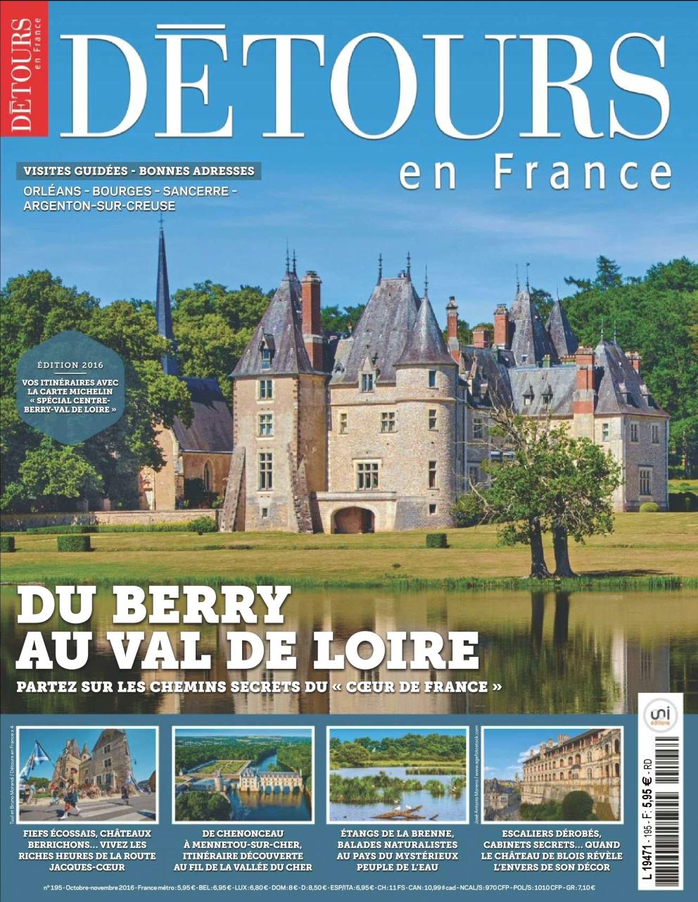 Détours en France 195 - Octobre/Novembre 2016