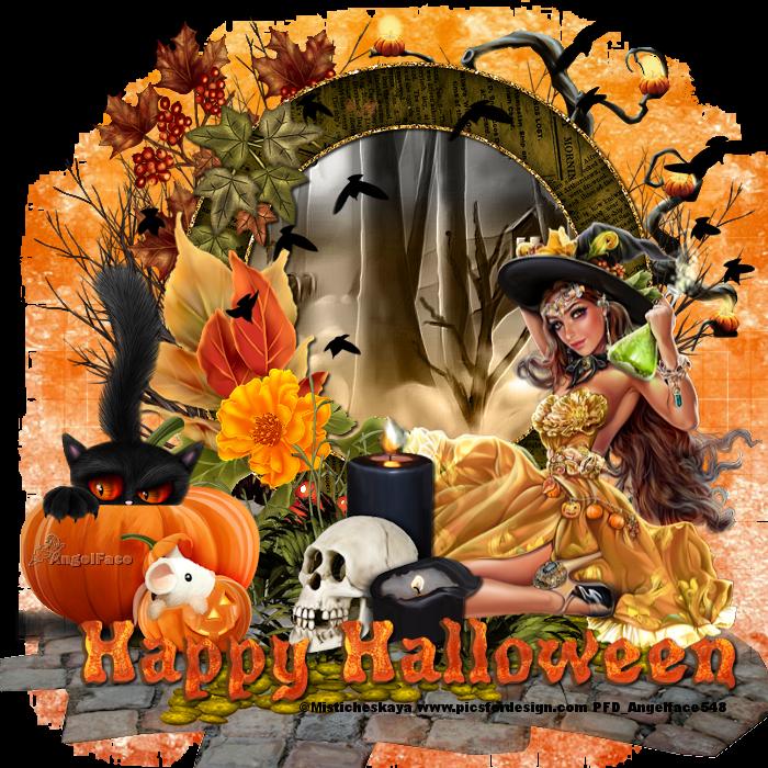 Petites créas Halloween sur mon forum