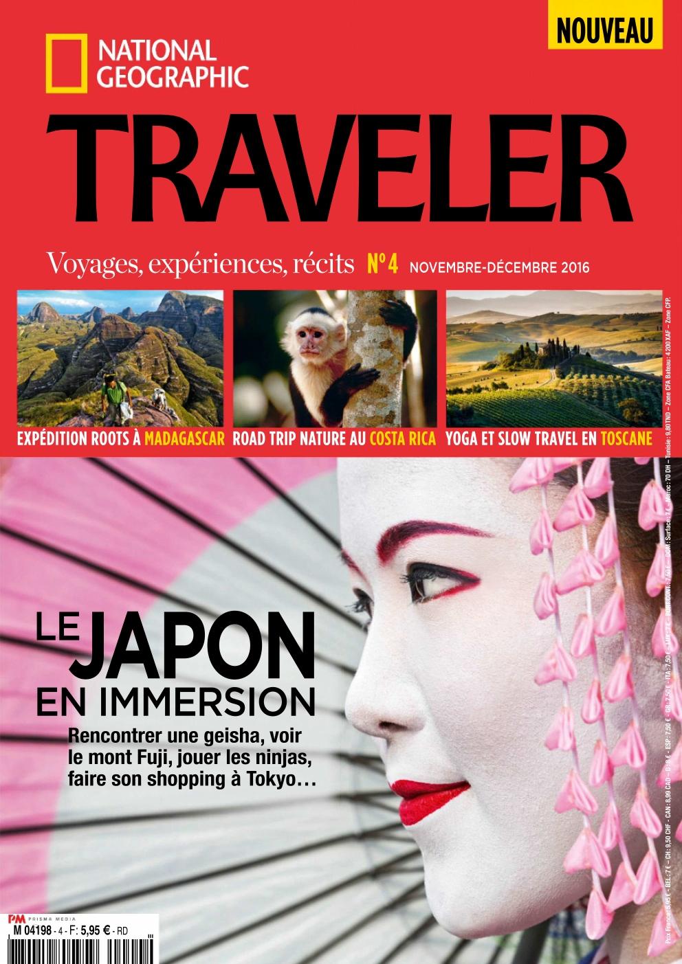 National Geographic Traveler N°4 - Novembre/Décembre 2016