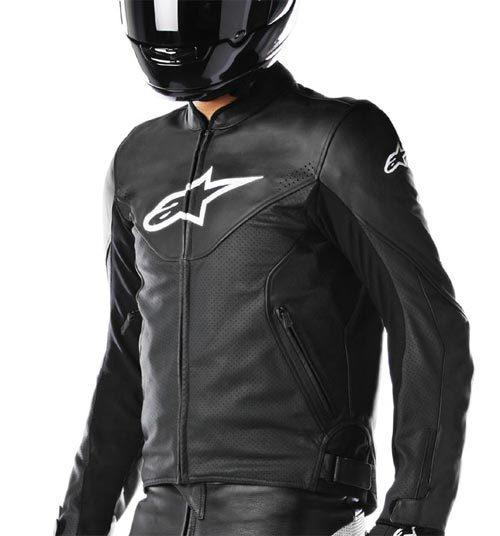 vends blouson alpinestars cuir vente ou recherche moto 34. Black Bedroom Furniture Sets. Home Design Ideas