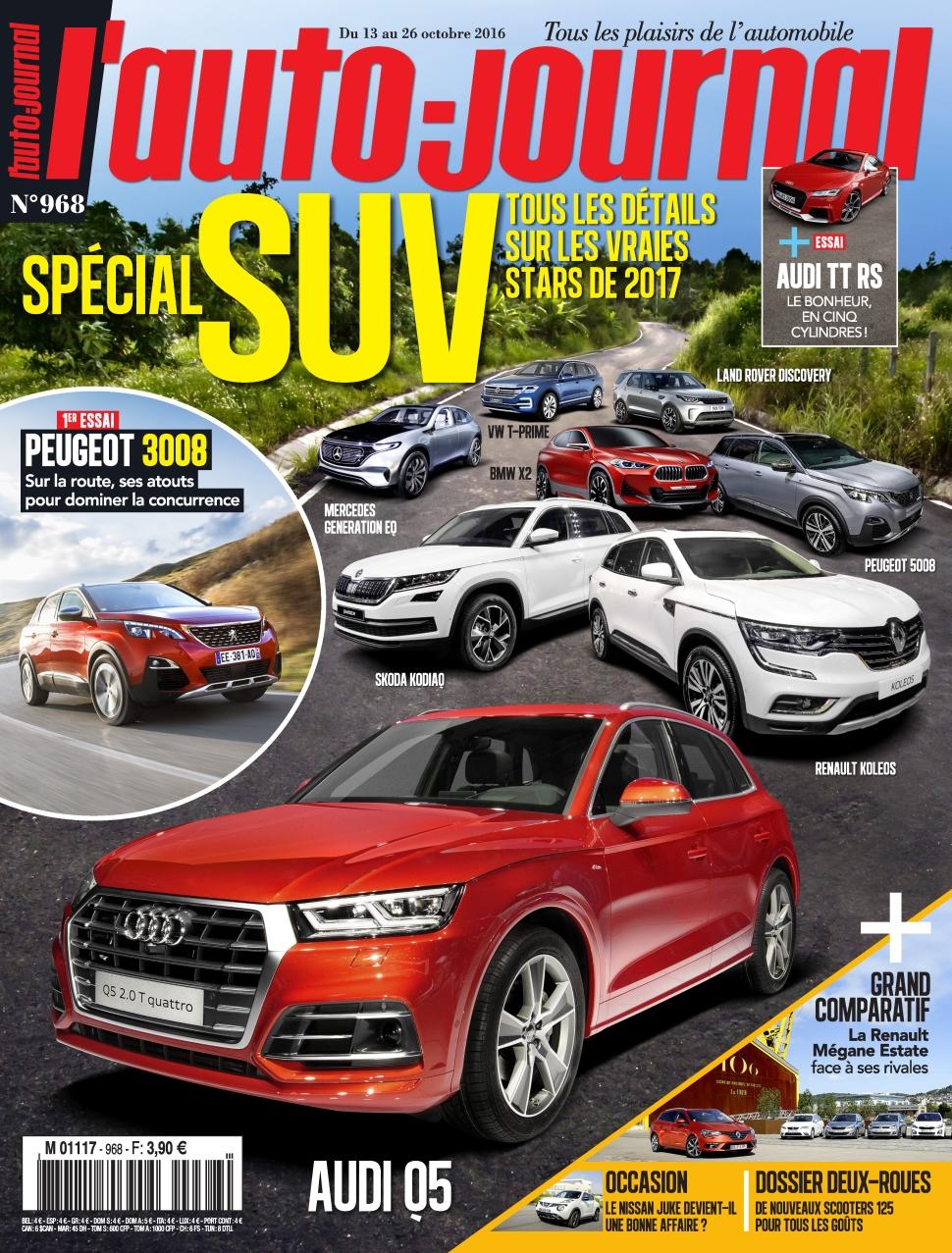 L'Auto-Journal 968 - 13 au 26 Octobre 2016