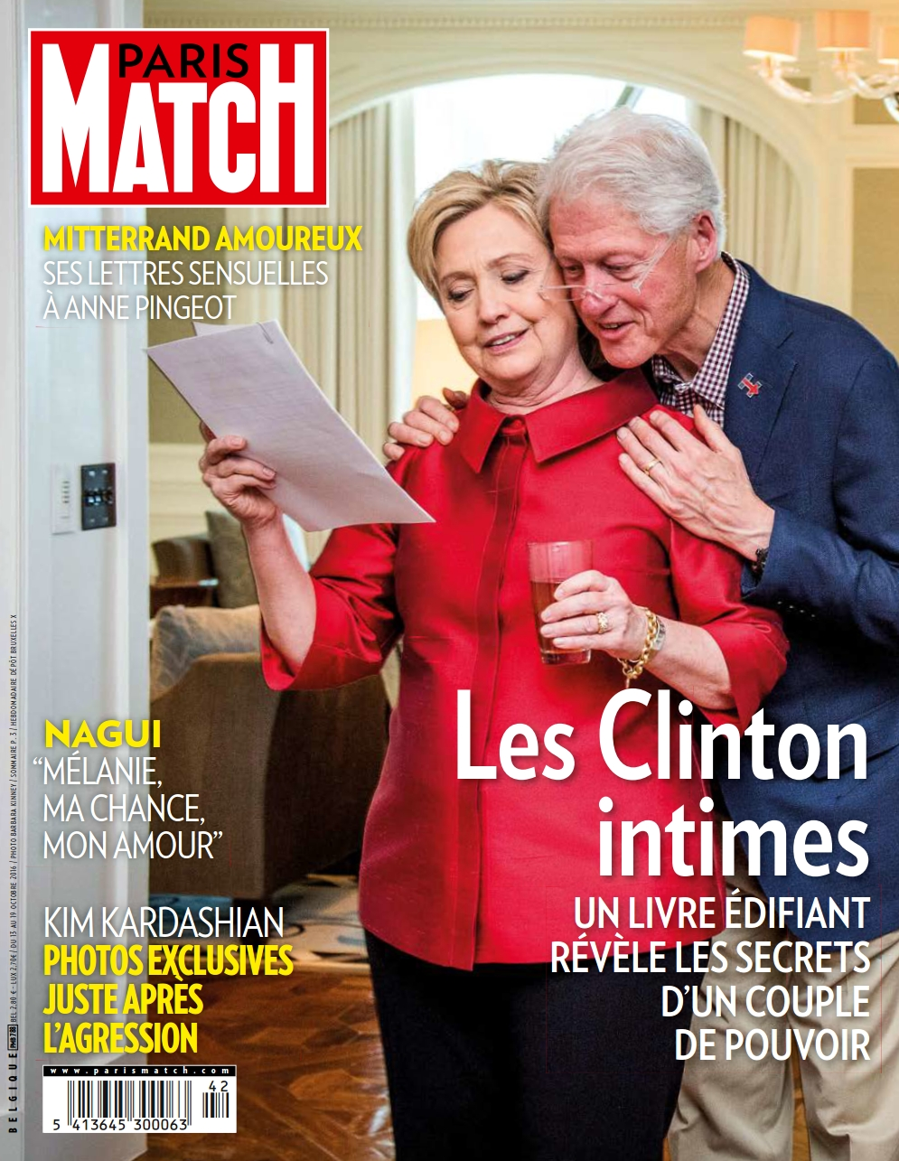 Paris Match Belgique 788 - 13 au 19 Octobre 2016