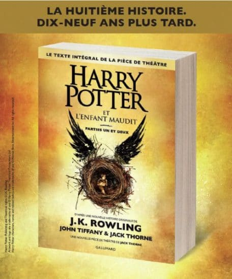 Harry Potter Et L Enfant Maudit - J.K. Rowling & John Tiffany & Jack Thorne 2016
