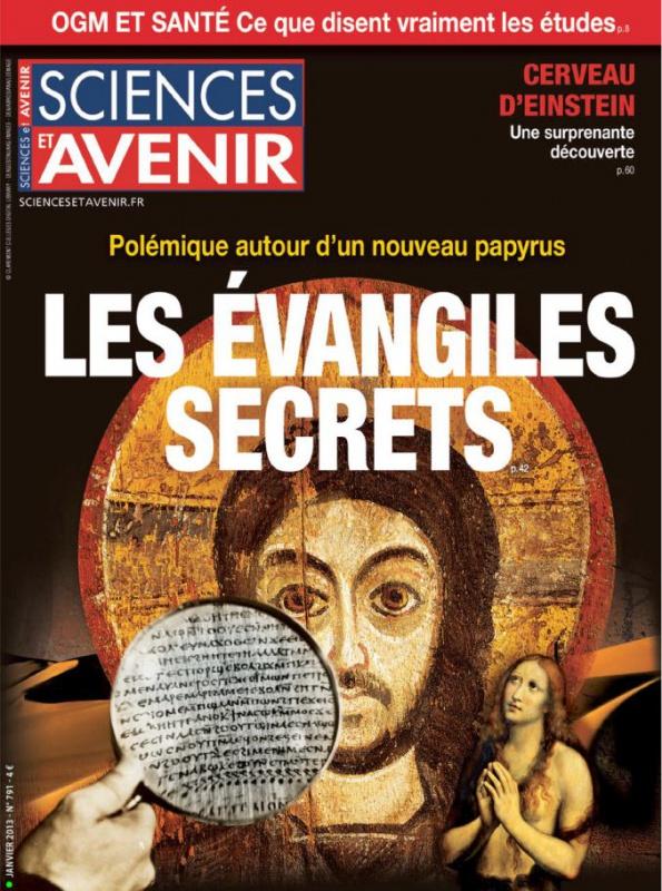 Sciences et Avenir N°791 - Les Evangiles Secrets