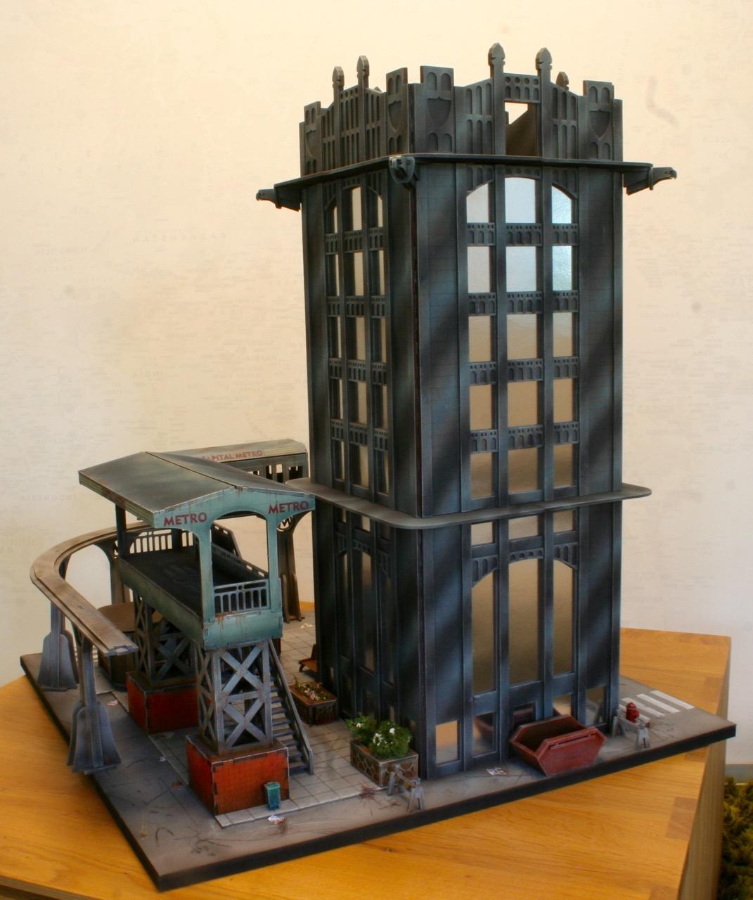L'atelier de Lien : début de tables Gotham.. 161016035522587899