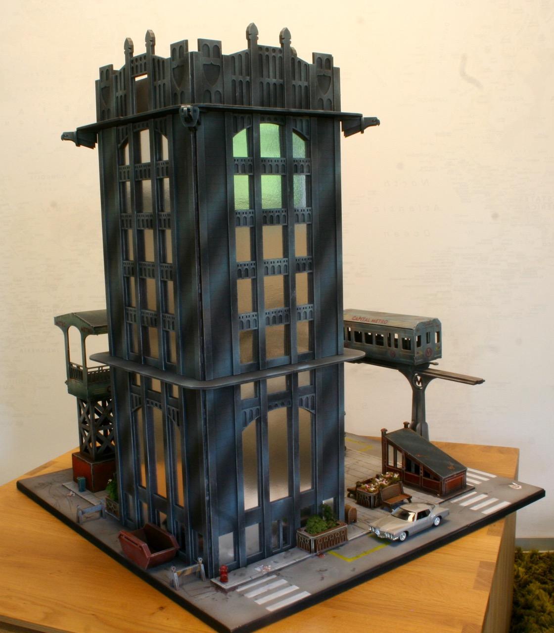 L'atelier de Lien : début de tables Gotham.. 16101603552523217