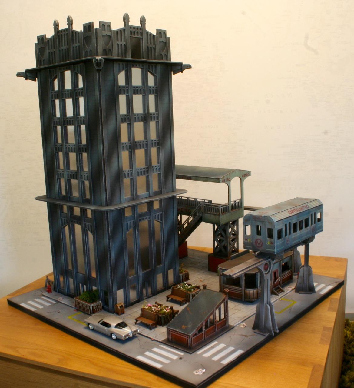 L'atelier de Lien : début de tables Gotham.. 161016035526715692
