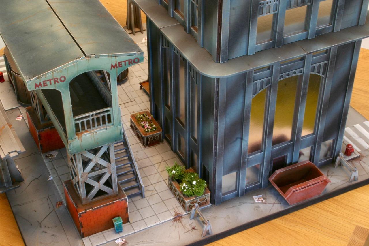 L'atelier de Lien : début de tables Gotham.. 161016035536691419