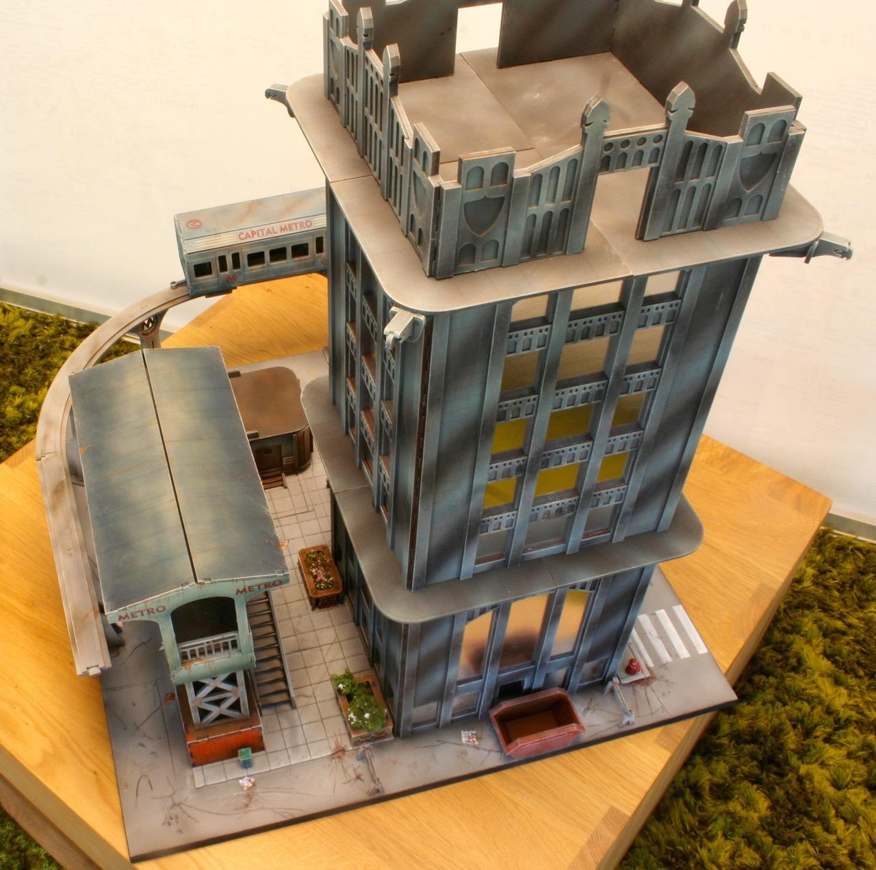 L'atelier de Lien : début de tables Gotham.. 161016035537905872