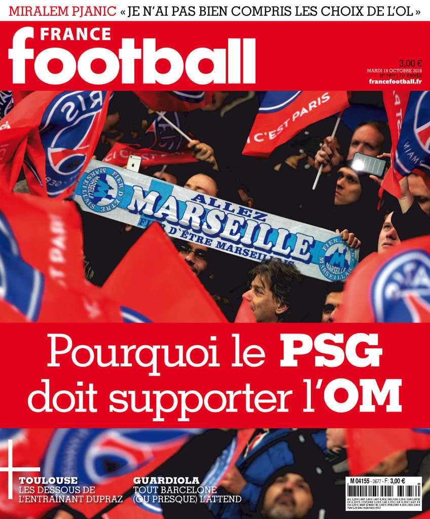 France Football 3677 - 18 Octobre 2016