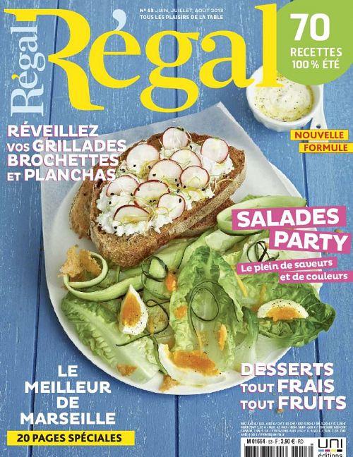 Régal N°53 - Salades Party