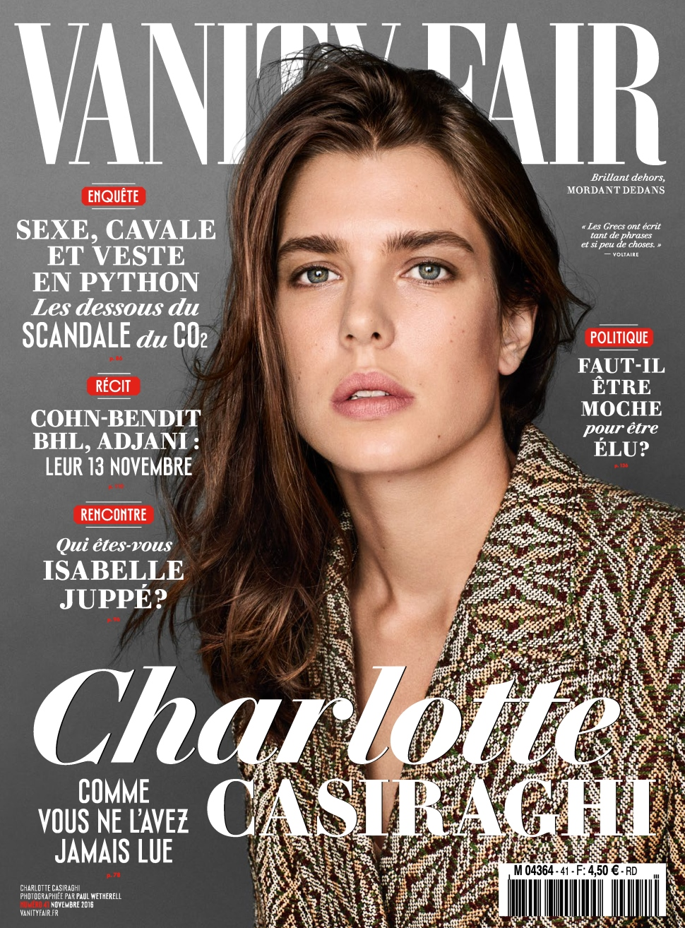 Vanity Fair France 41 - Novembre 2016