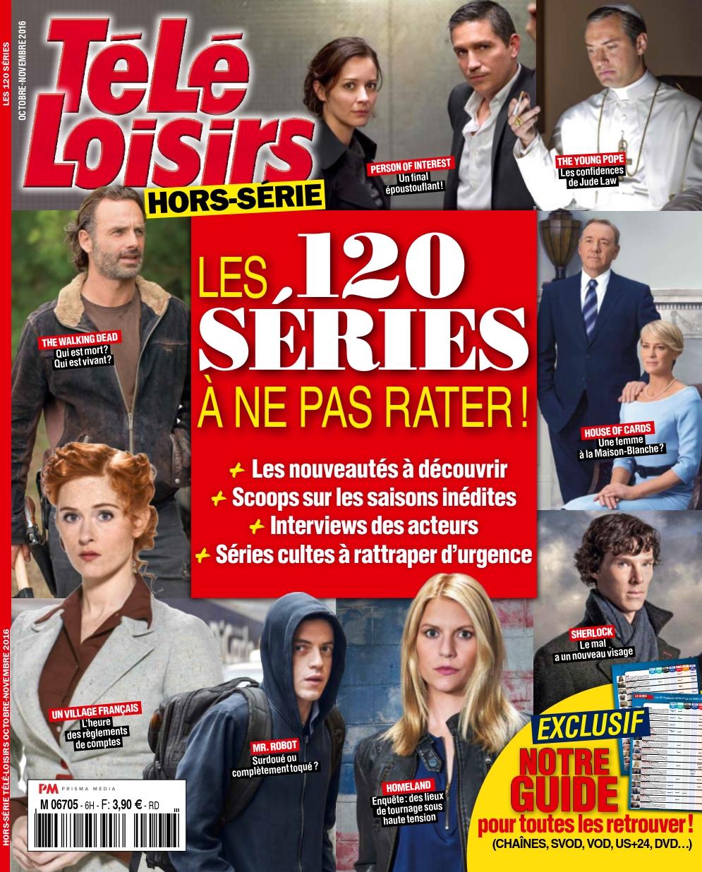 Télé Loisirs Hors Série 6 - Octobre/Novembre 2016