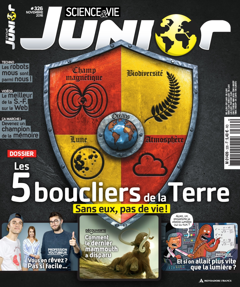 Science & Vie Junior N°326 - Novembre 2016