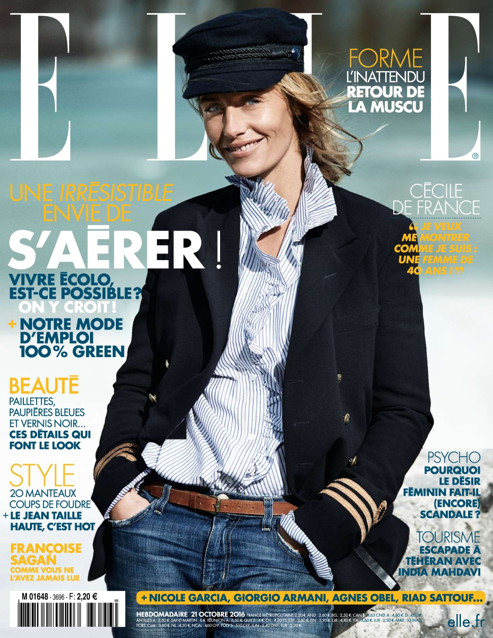 Elle France 3696 - 21 au 27 Octobre 2016