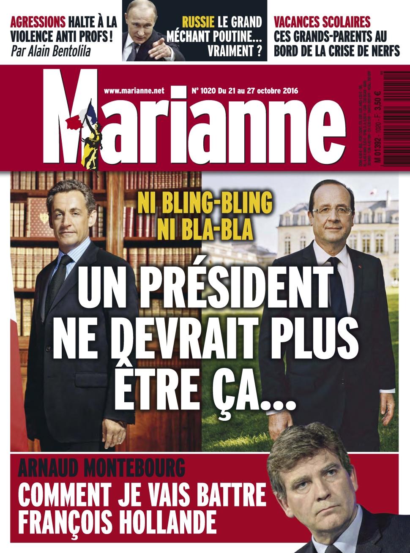Marianne 1020 - 21 au 27 Octobre 2016